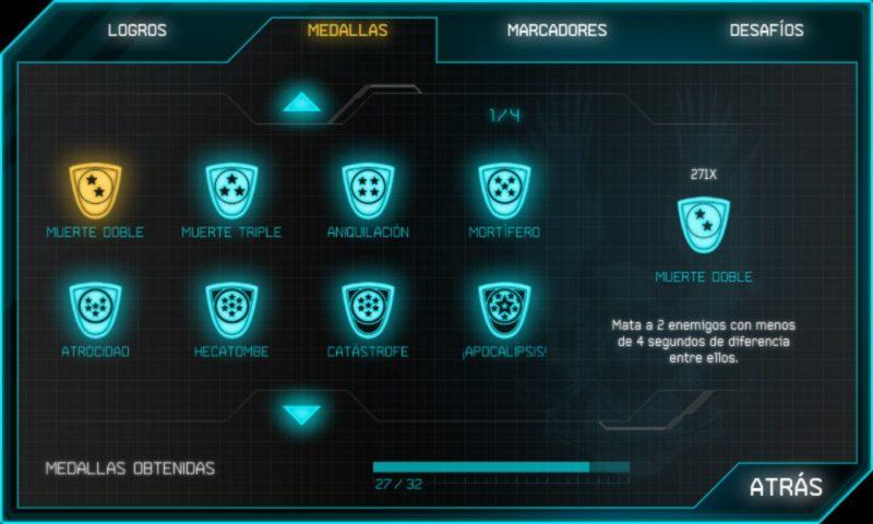 Halo: Spartan Assault manual de logros 3
