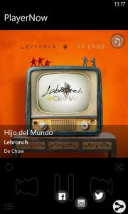 PlayerNow Windows Phone