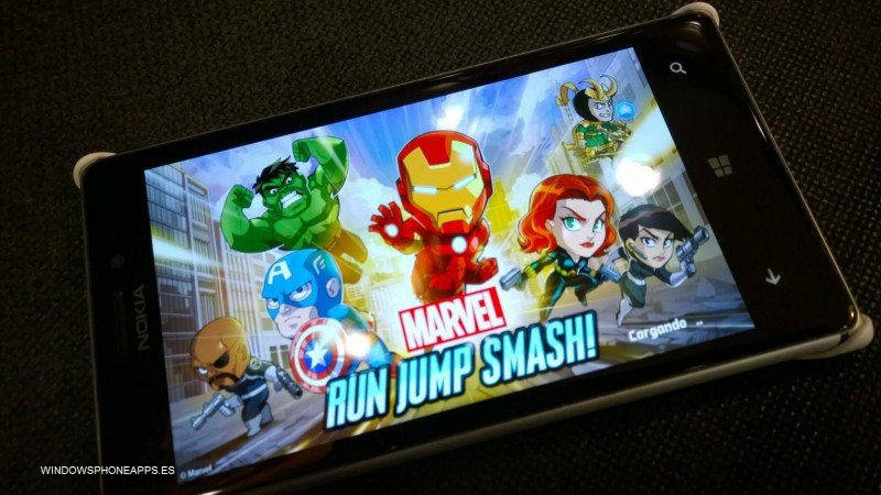 Marvel Run Jump Smash para Windows Phone