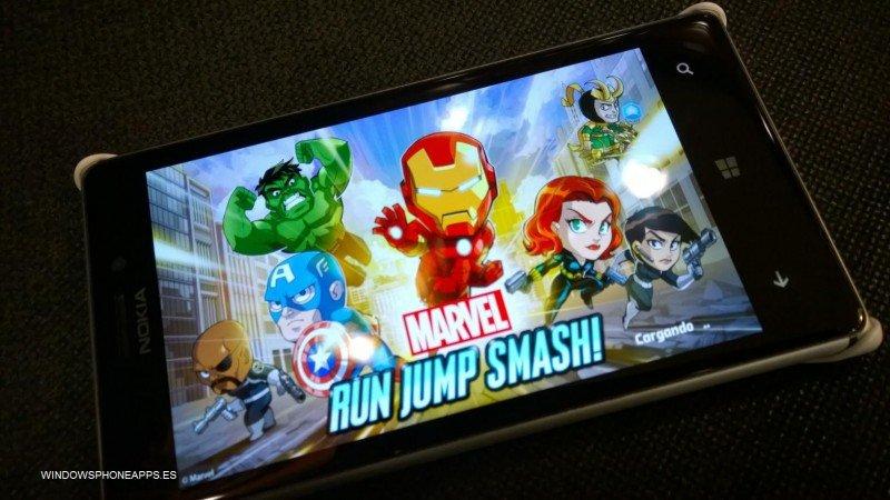 Marvel Run Jump Smash para Windows Phone