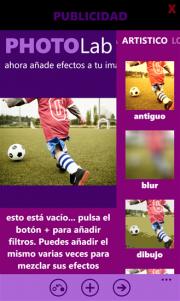 PhotoLab una nueva app de edición fotográfica disponible en la tienda Windows Phone