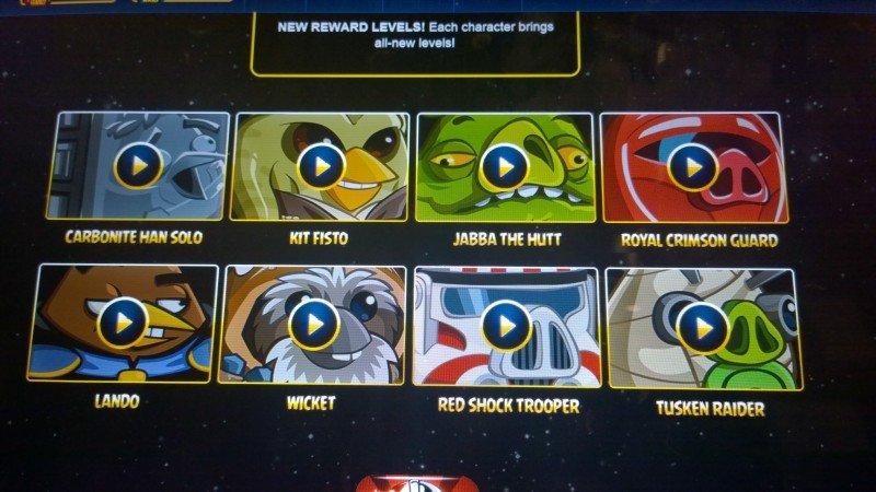 Angry Birds Star Wars II se actualiza con novedades