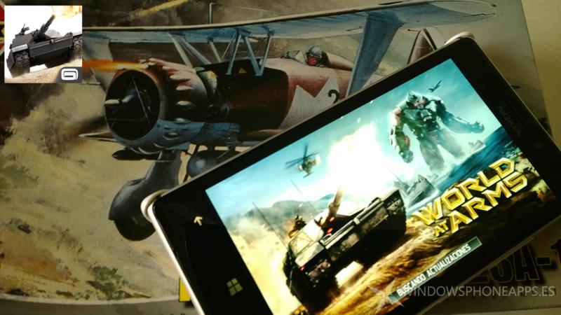 World at Arms Windows Phone