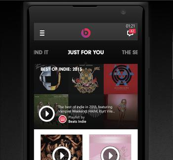Beats Music para Windows Phone