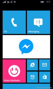 ¿Es este el Facebook Messenger para Windows Phone 8.1?