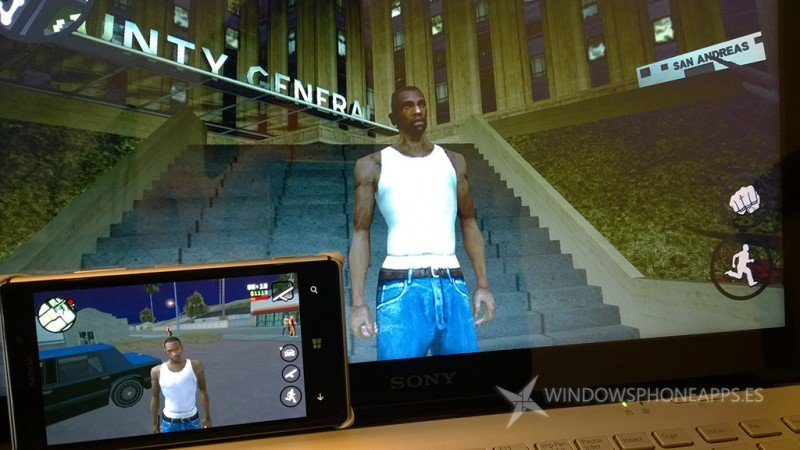 Grant Theft Auto: San Andreas Windows 8