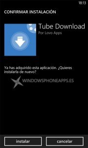 Como reinstalar aplicaciones y juegos ya pagados en Windows Phone