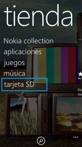 Como instalar aplicaciones usando la tarjeta SD en Windows Phone 8