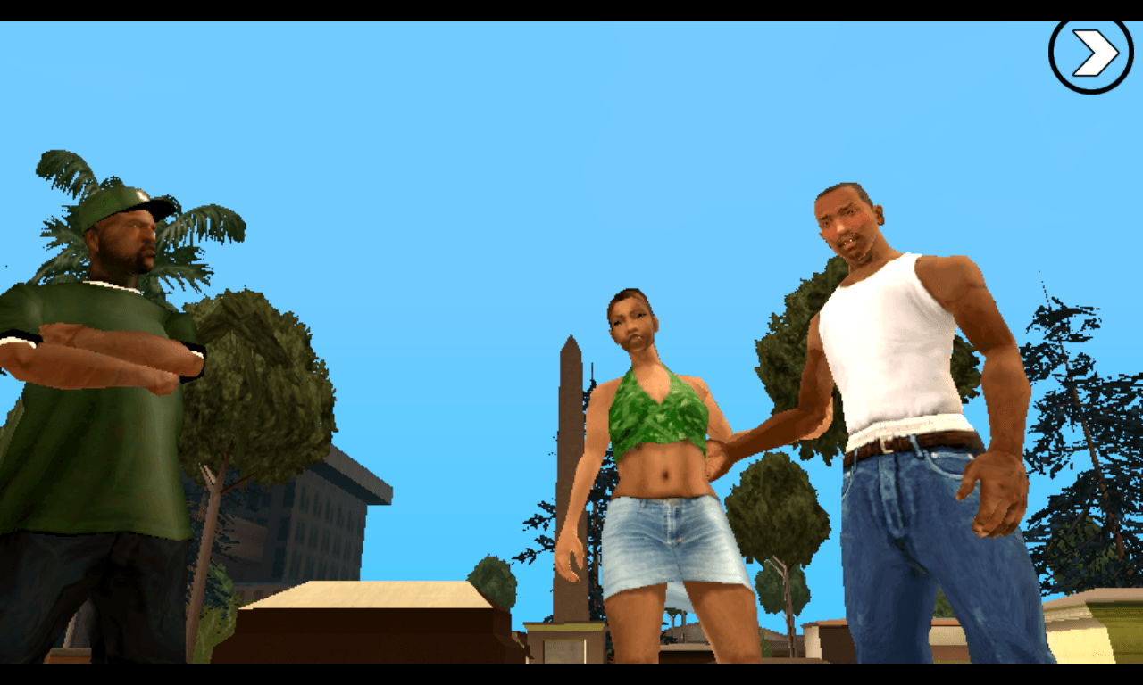 GTA San Andreas para Windows Phone