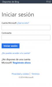 Microsoft actualiza sus aplicaciones de Bing