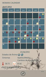 Calendario de la Mujer