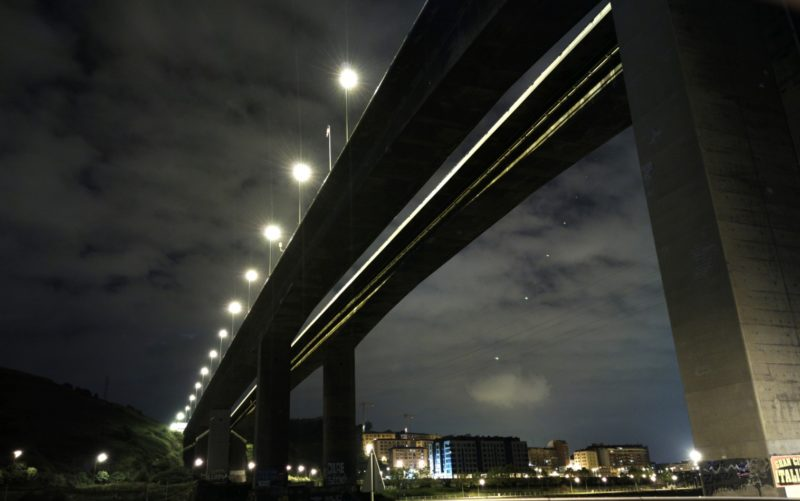 Diagonal desde arriba (el puente)