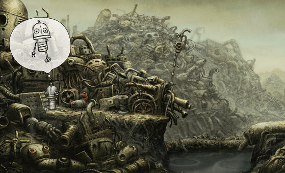 machinarium dialogos