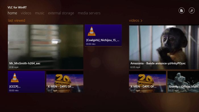VLC ya disponible para Windows 8