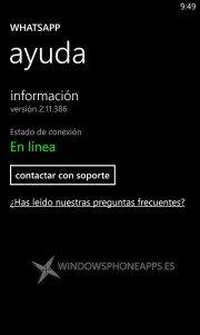 WhatsApp Beta se actualiza a la v. 2.11.386 y desaparece lista de difusiones