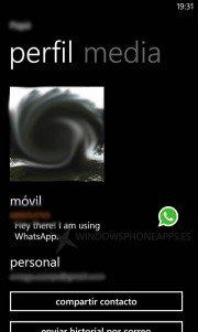 WhatsApp Windows Phone Llamadas VoIP