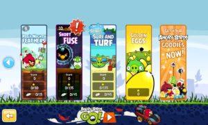 Angry Birds se actualiza con nuevos niveles