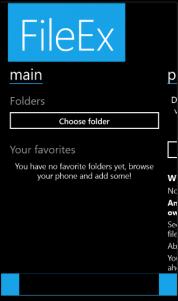 FileEx, nuevo gestor de archivos para Windows Phone 8.1