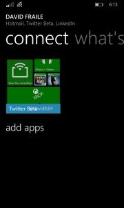 Aparece una beta cerrada de Twitter para Windows Phone 8.1