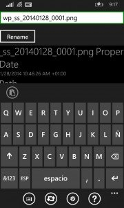 Aerize Explorer para Windows Phone 8.1