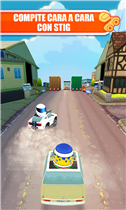 """Race The Stig"" Juego de Top Gear en Windows Phone."