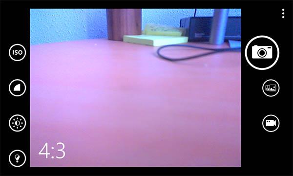 camara windows phone 8.1 - resolucion