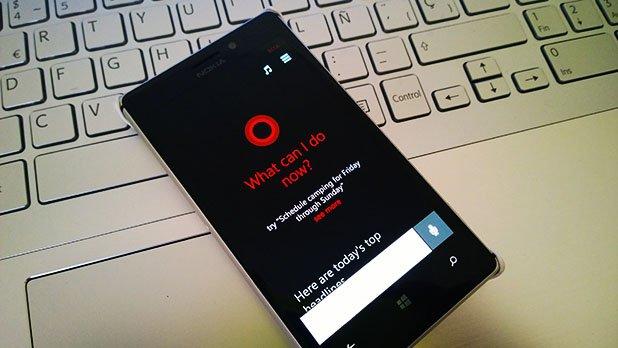 Cortana windows phone 8.1