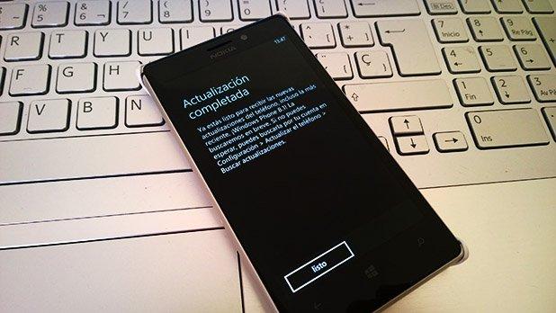Listo para Windows Phone 8.1