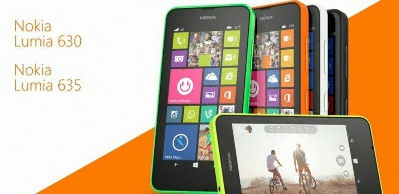 Nokia Lumia 630 - 635