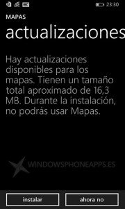 Mapas Windows Phone 8.1