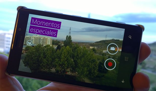 Momentos especiales, la aplicación de edición de vídeo de Microsoft para Windows Phone 8.1