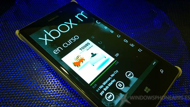 Música Windows Phone 8.1