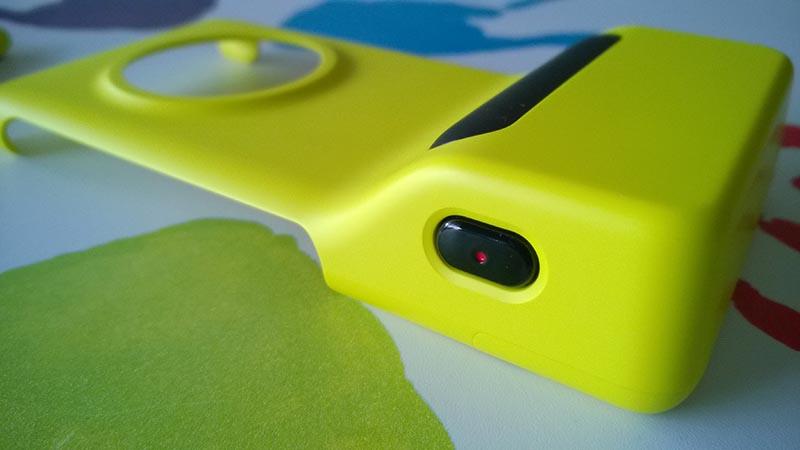 Nokia Camera Grip botón de disparo