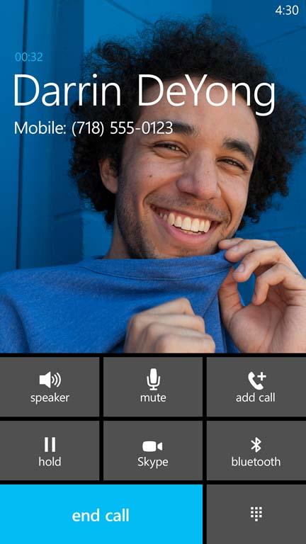 Integración de Skype en las Llamadas