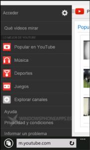 YouTube móvil vuelve a cambiar su interfaz gráfica
