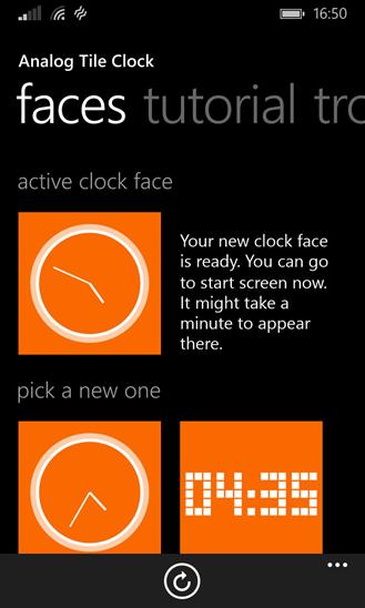 Analog Clock Tile