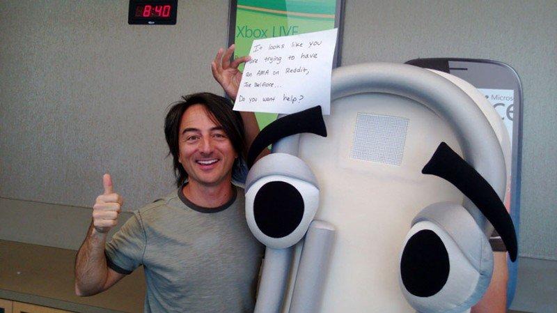 Joe Belfiore responde a los usuarios en Reddit