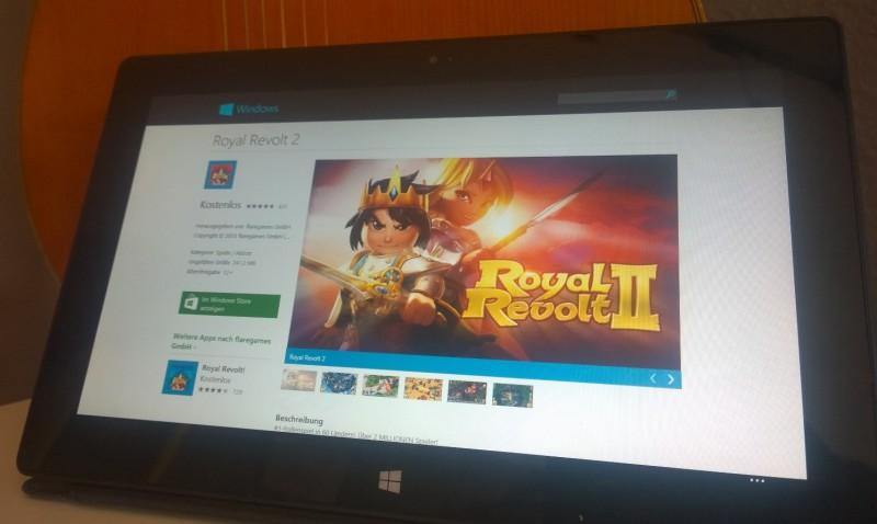 Royal Revolt 2 llega a Windows 8