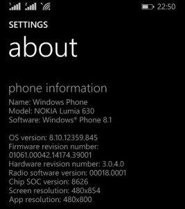 Más información sobre la actualización Lumia Cyan