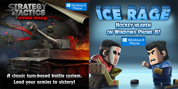 HeroCraft lanza dos nuevos juegos para Windows Phone