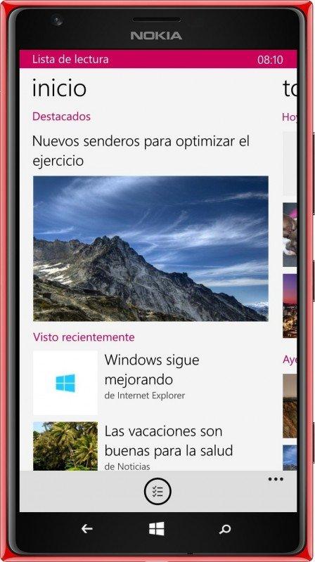Lista de Lectura de Microsoft