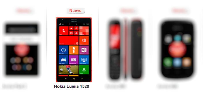 Nokia Lumia 1520 en Colombia