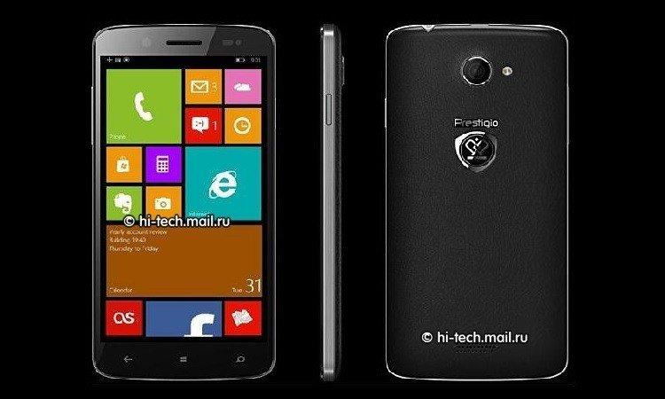 Se filtran imágenes del Windows Phone de Prestigio