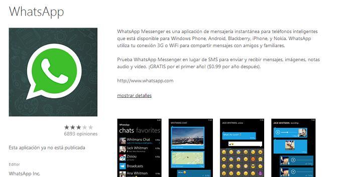 whatsapp-no-publicada