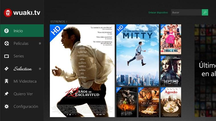 Wuaki.tv lleva su videoclub a Windows 8.1