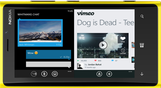 Multitarea Windows Phone 9