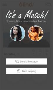 6Tin, nuevo cliente Tinder para Windows Phone