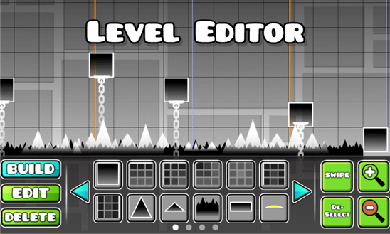 Geometry Dash editor de niveles