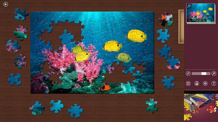 Microsoft Jigsaw nuevo juego Xbox para Windows 8.1