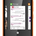 Y Microsoft presentó ... El Nokia X2, su nueva generación de smartphone Android